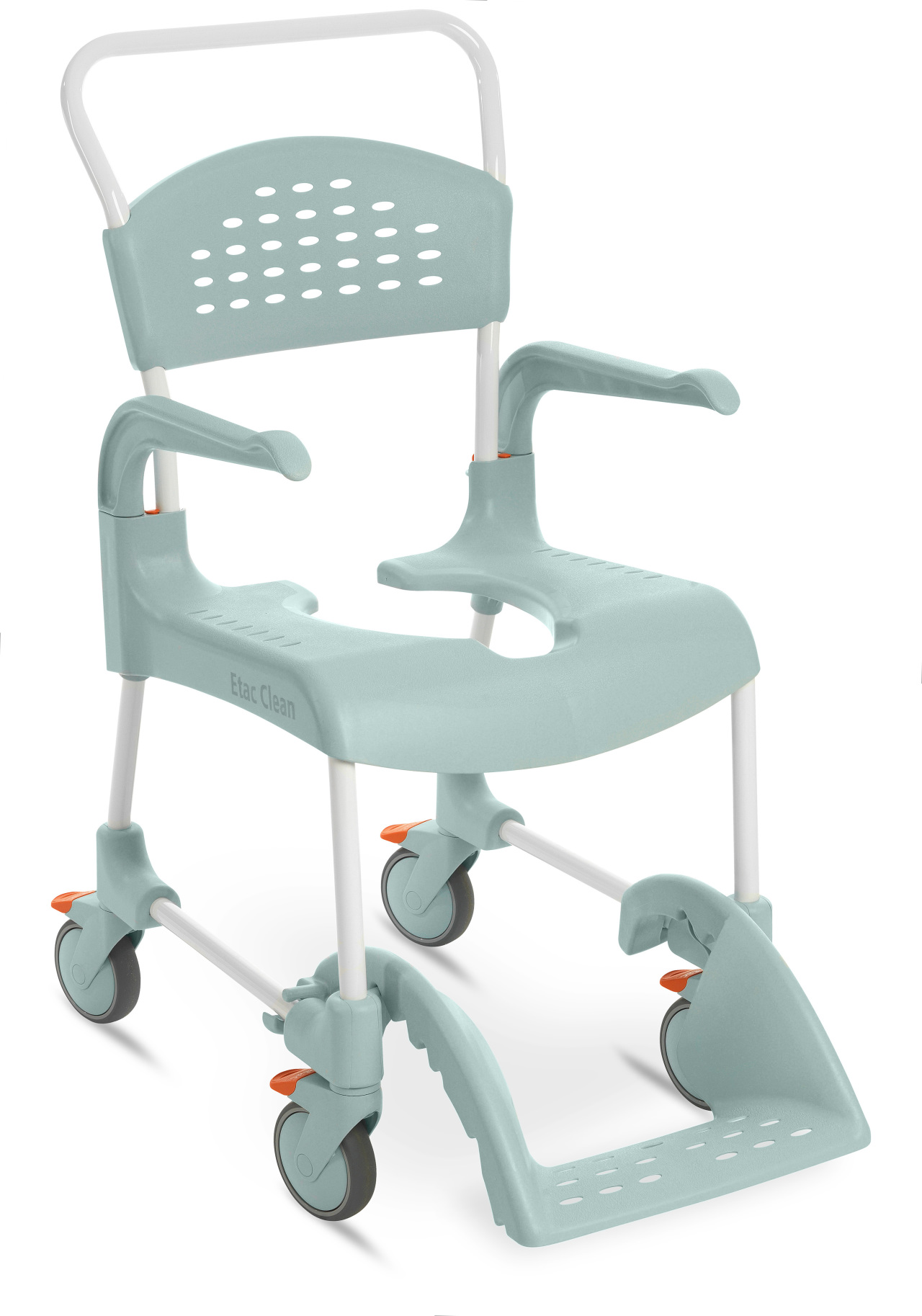 Specialty Medical Rehab Shower Commode Chair 5 Casters And
