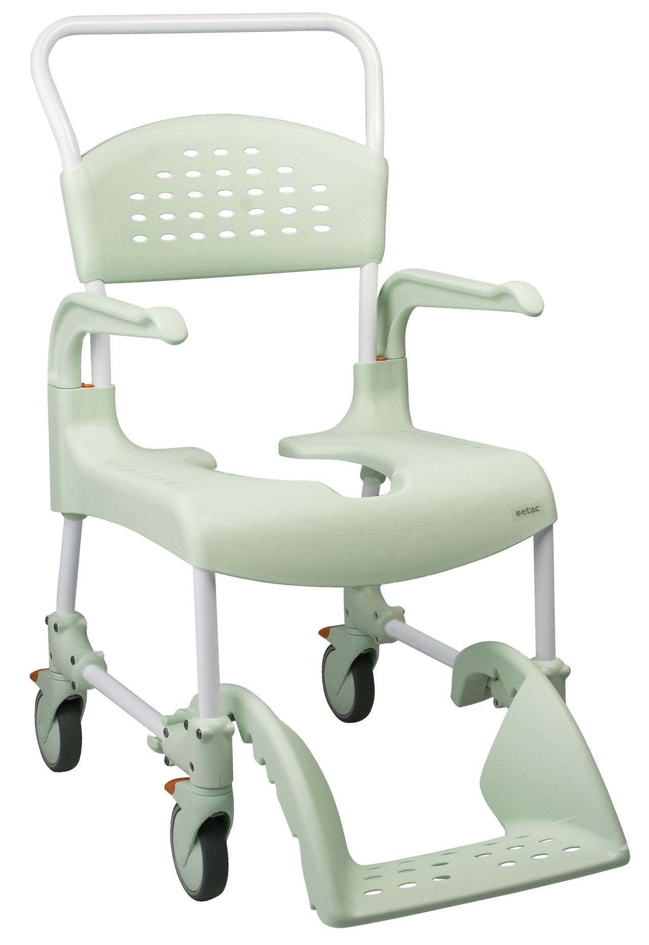 Etac Clean shower commode chair - old version