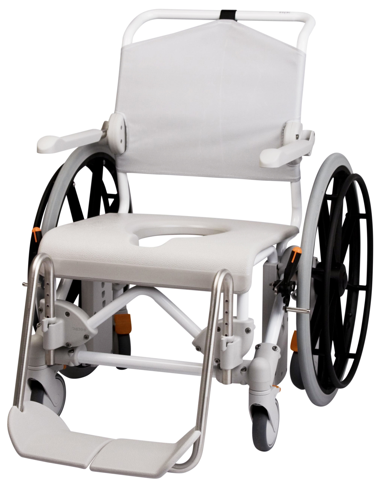 "Etac Swift Mobile 24"" toilet- en doucherolstoel"